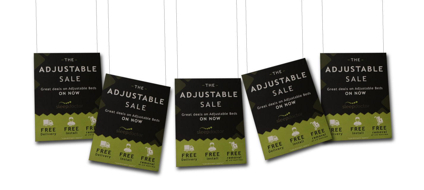 THE ADJUSTABLE SALE