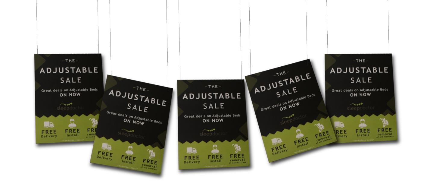 THE ADJUSTABLE SALE